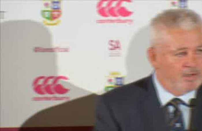 Gatland named Lions coach for third time