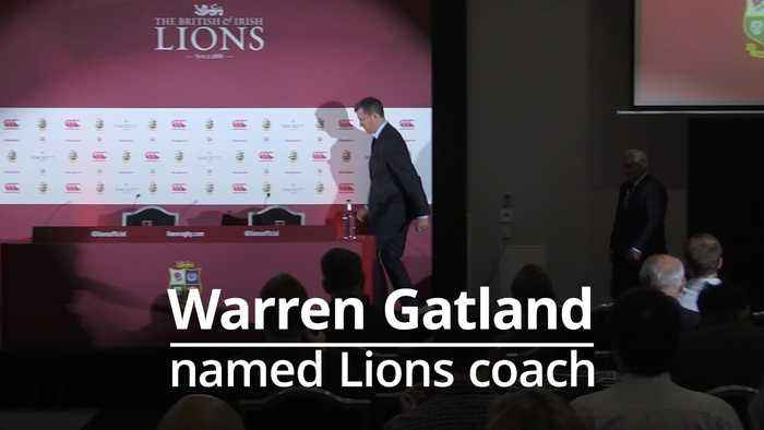 Warren Gatland: 'Unfinished business' behind leading the Lions for a third time
