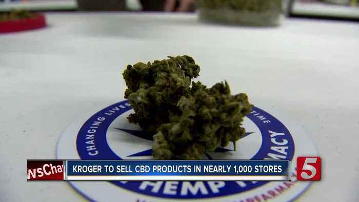 Kroger to begin selling CBD products in Tennessee