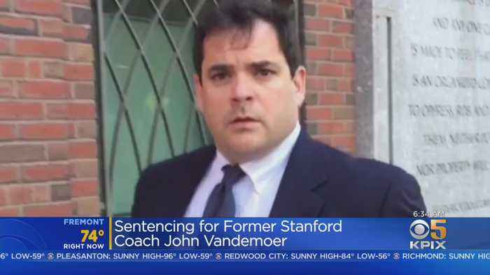 Former Stanford Coach To Be Sentenced In Admissions Scandal