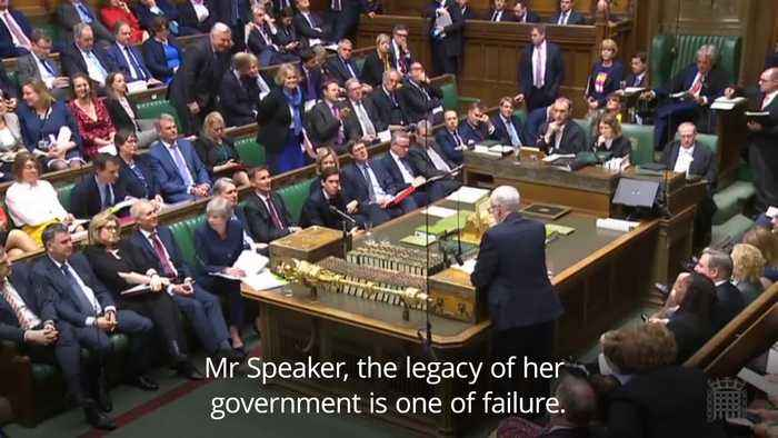 Jeremy Corbyn: PM's legacy is one of failure