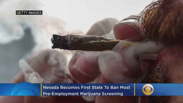 Nevada Becomes First State To Ban Most Pre-Employment Marijuana Screening