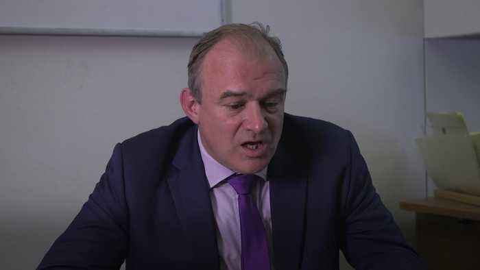 Sir Ed Davey: Boris Johnson is a 'disgraceful' politician