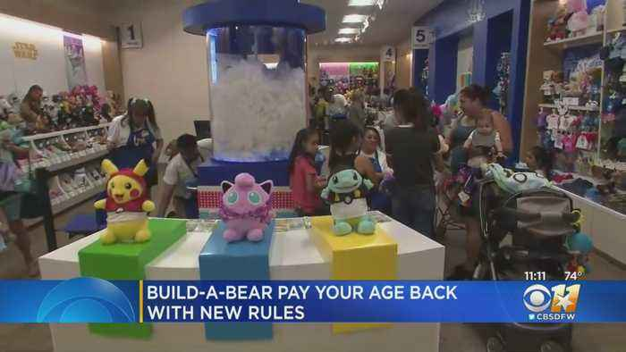 Build-A-Bear Offering Lottery Tickets For 'Pay Your Age' Event