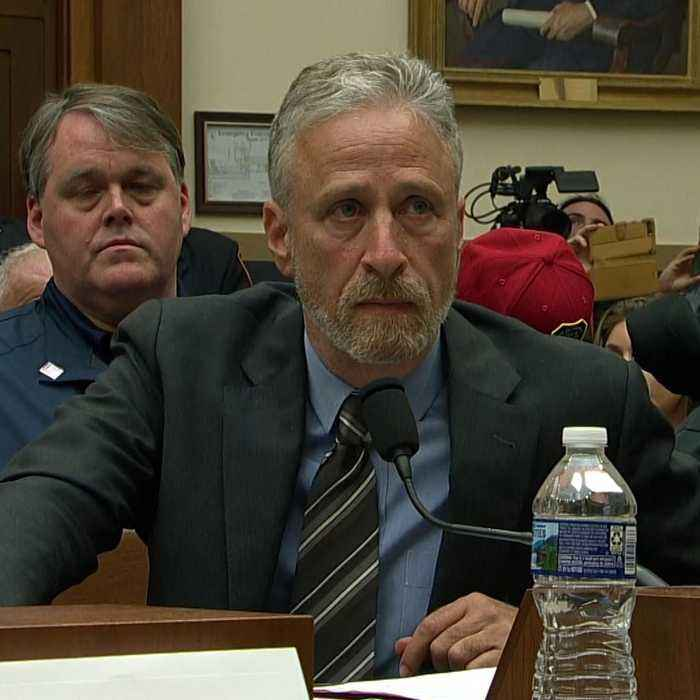 Jon Stewart rips Congress for lack of attendance at 9/11 first responders hearing