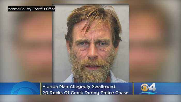 Florida Man Swallows 20 Rocks Of Crack, Leads Cops On Chase From Miami To Upper Keys