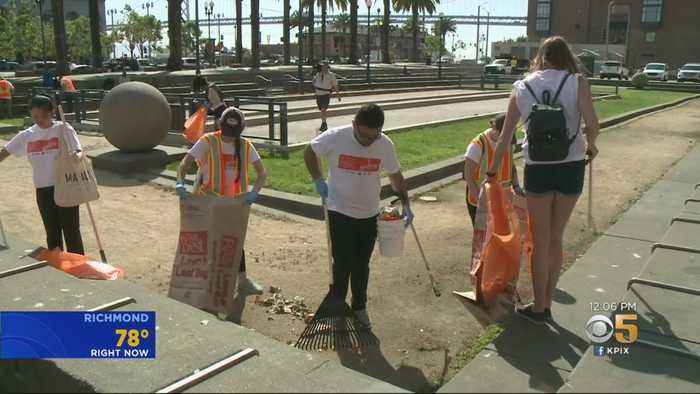 Community Pitches In For Event To Clean-Up San Francisco's Streets