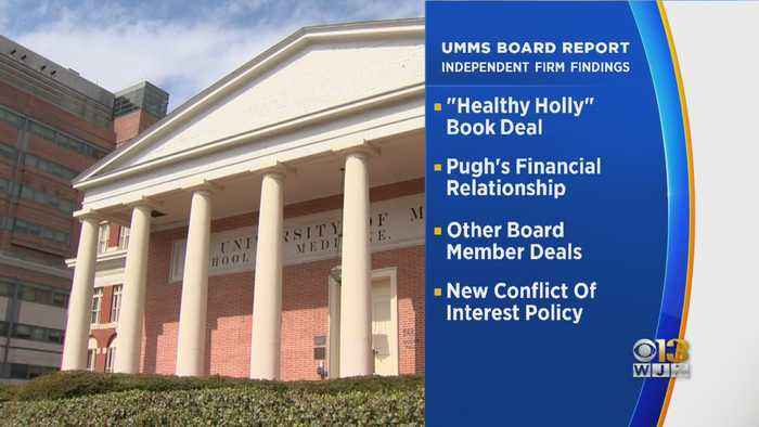 Review Finds UMMS Deals Were Not Competitively Bid Or Fully Vetted, Faults Former CEO For Healthy Holly Deal