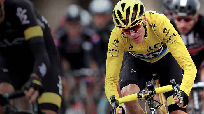 Chris Froome in numbers