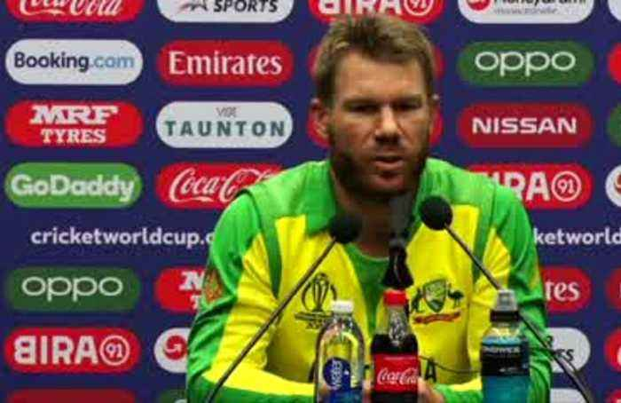 Warner elated at century as Australia beat Pakistan in World Cup