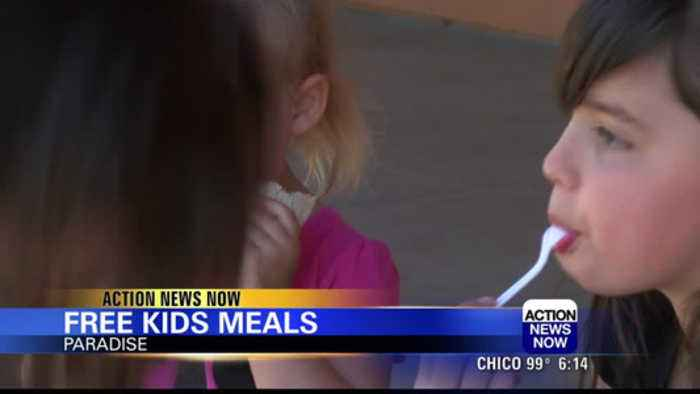 Paradise and Magalia children offered free meals throughout summer