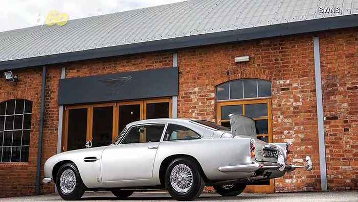 For Your Auction Only! Aston Martin Used In 2 Classic Bond Films Complete With Gadgets To Go To Auction For Millions!