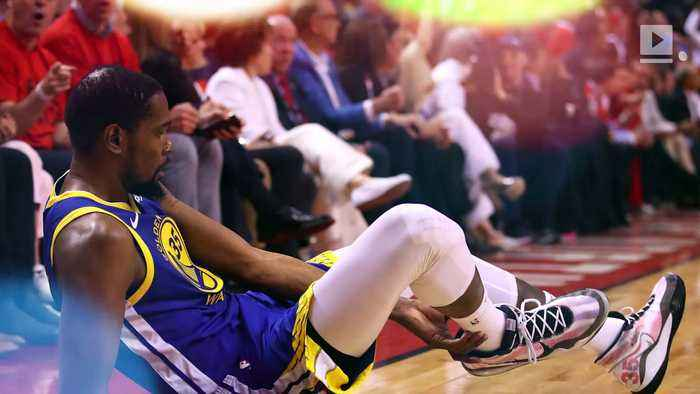 Kevin Durant Has Surgery for Ruptured Achilles