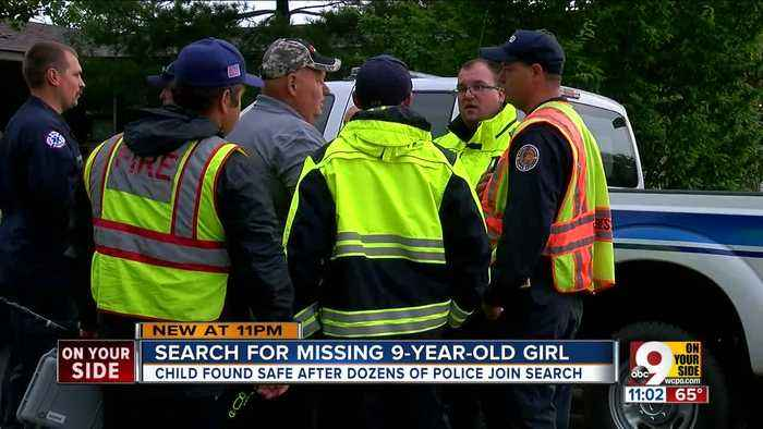 Search for missing 9-year-old ends happily