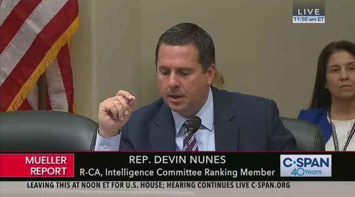 Nunes' closing remarks at Mueller report hearing