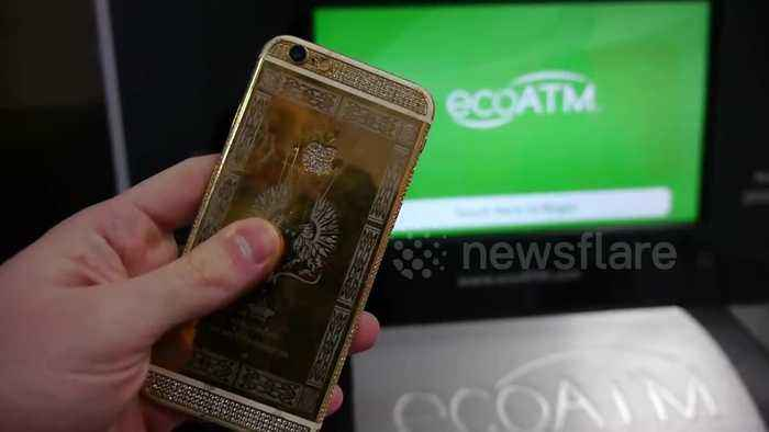 ATM for old phones determines completely destroyed iPhone is worth more than a 24K gold-plated one
