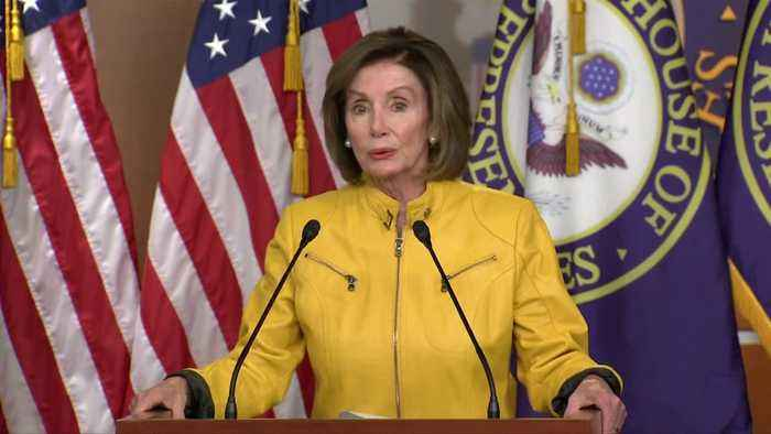 """""""Trump doesn't know right from wrong"""": Pelosi"""