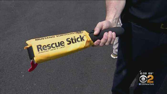 New Water Rescue Device Unveiled On Long Island