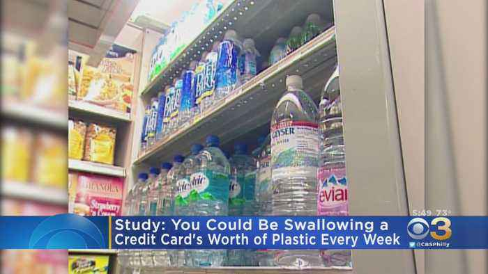 Study Finds You Could Be Swallowing Credit Card's Weight In Plastic