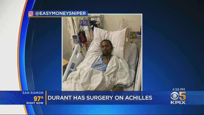 Kevin Durant Undergoes Successful Surgery On Ruptured Achilles Tendon