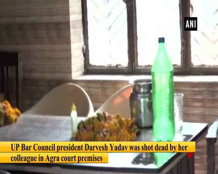 Newly elected president of UP Bar Council shot dead in Agra court