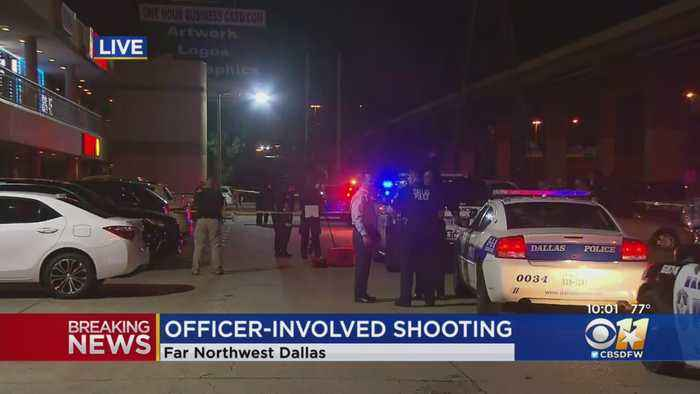 Police In Dallas Investigating Officer-Involved Shooting By Farmers Branch Officer