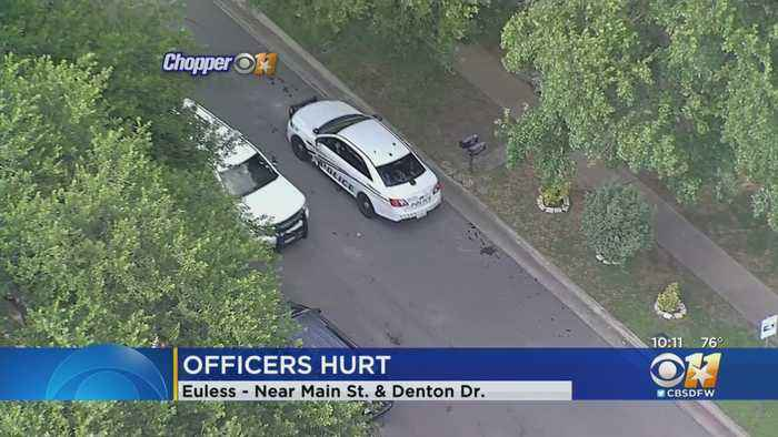 2 Euless Officers Injured After Traffic Stop Turns Physical