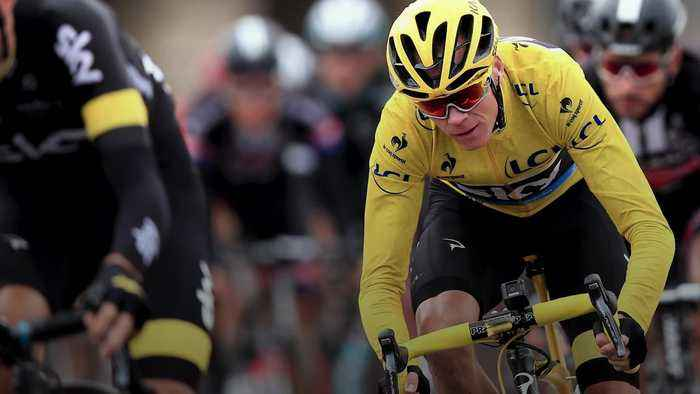 Chris Froome's wife: Please keep him in your thoughts