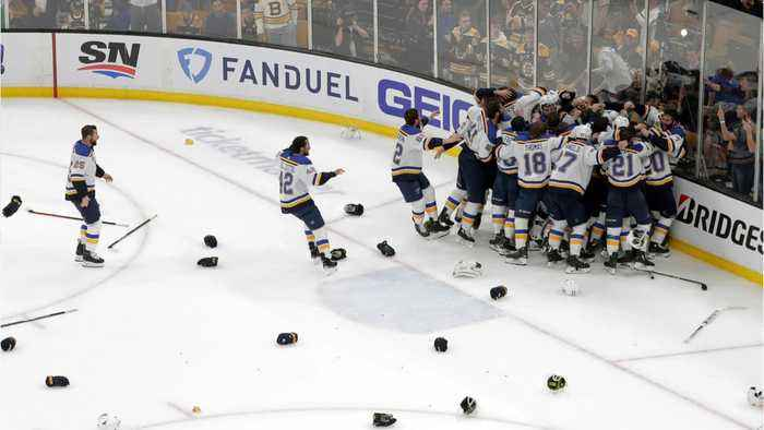 Blues Beat Bruins In Game 7 To Win Cup