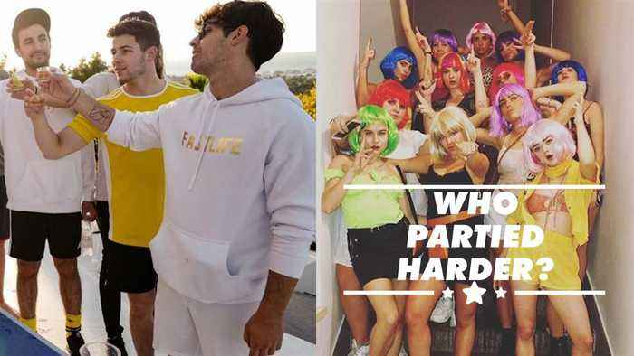 Here's how wild Sophie Turner and Joe Jonas got at their bachelor parties