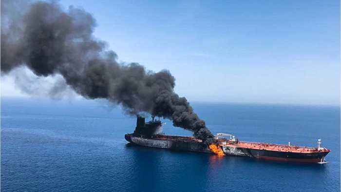 Japan Shipping Company Says Its Tanker Was Attacked In Gulf