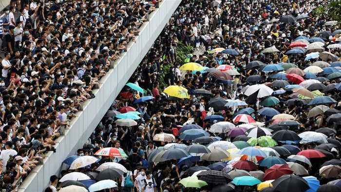 Hong Kong protest leaders call for Sunday rally, city-wide strike