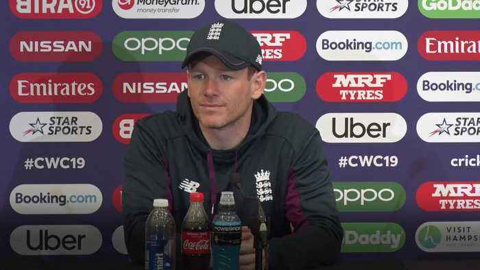 Eoin Morgan: Wood doubtful for West Indies clash