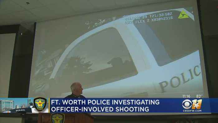FWPD Show Body Cam Video Of JaQuavion Slaton Shooting