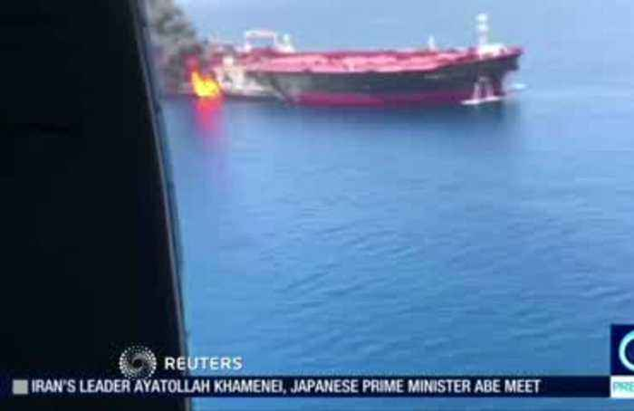 Two oil tankers struck in Gulf of Oman