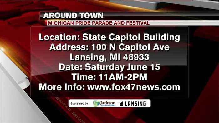 Around Town - Pride Parade and Festival - 6/13/19