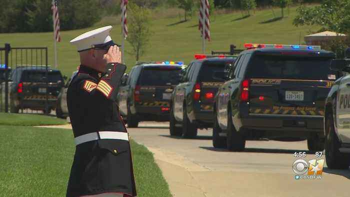 In Their Own Words: Community Pays Respects To Fallen Officer A.J. Castaneda