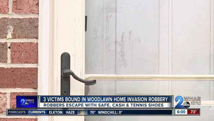 3 Victims Bound in Woodlawn Home Invasion Robbery