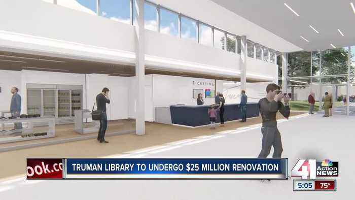 Truman Museum closing its doors for a year for renovation