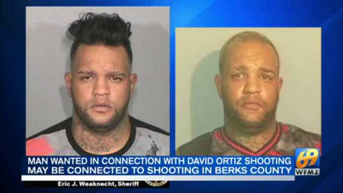 VIDEO Man wanted in connection with David Ortiz shooting may be connected to shooting in Berks Count