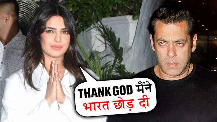 Priyanka Chopra TAUNTS Salman Khan For Leaving Bharat | The Sky Is Pink Party | INSIDE VIDEO