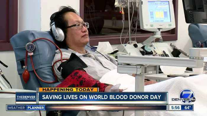 Today is World Blood Donor Day
