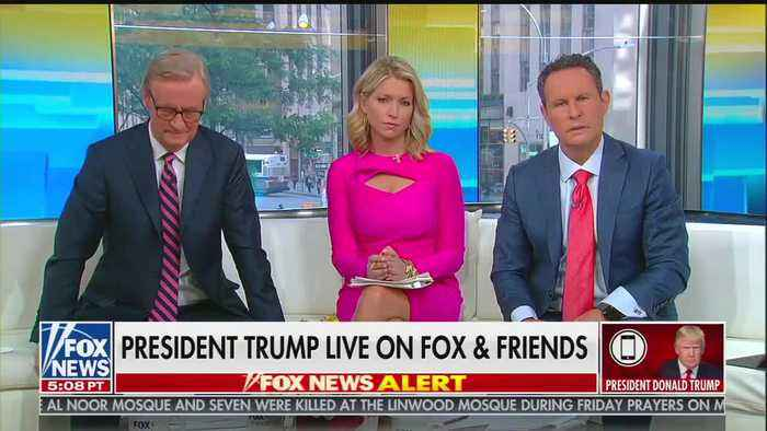 Donald Trump Birthday Interview on Fox & Friends'