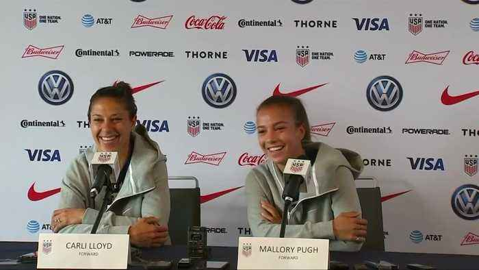 US World Cup women 'ready to take on anything'