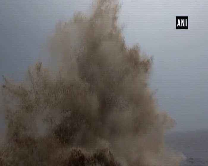 Rescue team takes pre-emptive actions to save fishermen locals from Cyclone Vayu