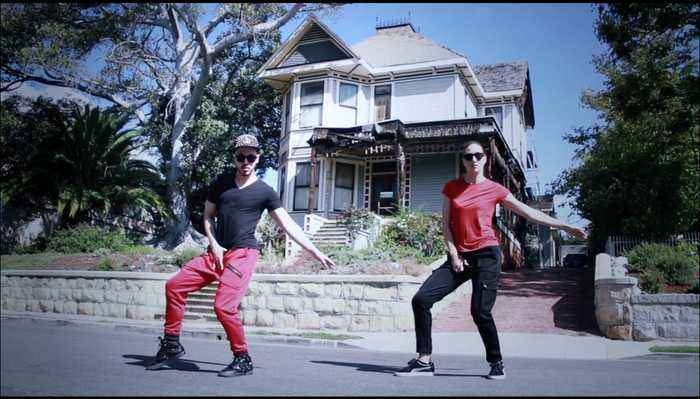 Dynamic duo perform dubstep dance to Michael - One News Page