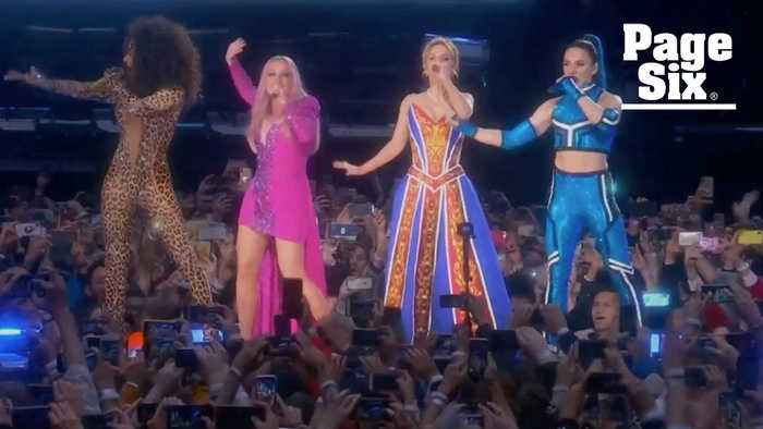Watch The Spice Girls reunion without Victoria Beckham