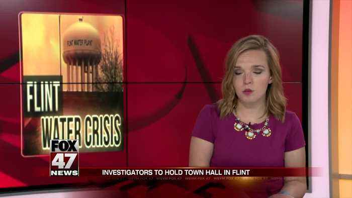 Investigators to Hold Town Hall in Flint