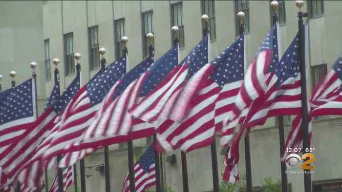 Celebrations Across The Country Friday To Mark Flag Day