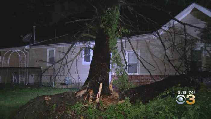 Tornado Twisted Its Way Across Gloucester County